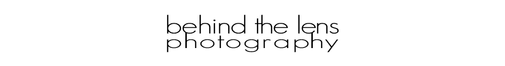 Behind the Lens Photography logo